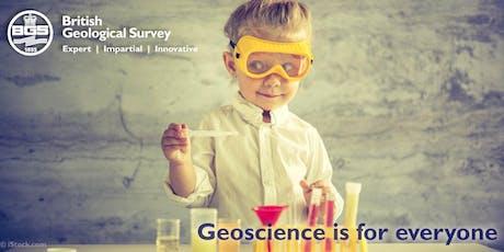 British Geological Survey Open Day entradas