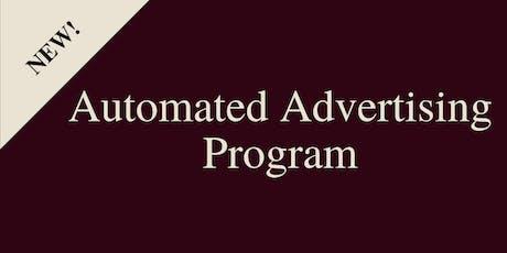 Automated Advertising Program - Training (Adwerx) tickets