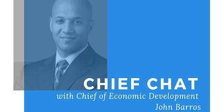 Chief Chat: John Barros tickets