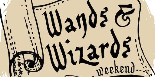 Wands & Wizards Weekend: Wand Making at First Presbyterian
