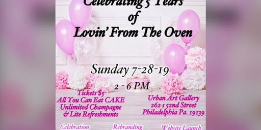 Celebrating 5 Years of Lovin' From The Oven