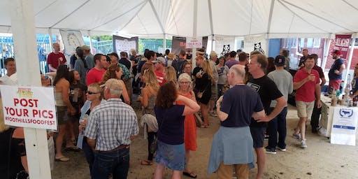 2019 Foothills Food Festival Beer Garden