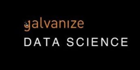 Galvanize NYC: Intro to Data Science with Python tickets