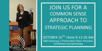 A Common Sense Approach to Strategic Marketing Planning - Are You Ready?
