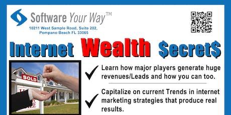 Internet Wealth Secrets: Generating Business Leads tickets