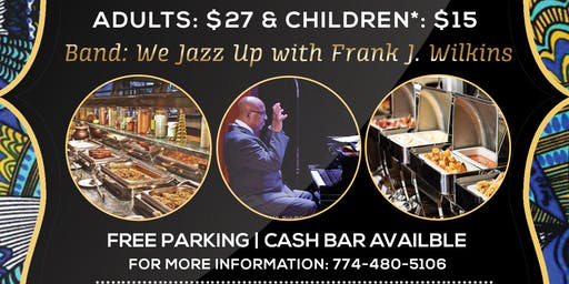 Back to Roots: A Live Jazz Brunch Buffet with Frank J. Wilkins