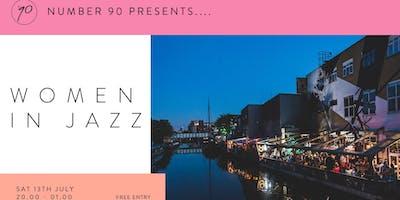 Number 90 Presents Women In Jazz
