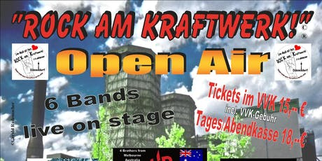 Rock am Kraftwerk - Open Air 2019 Tickets