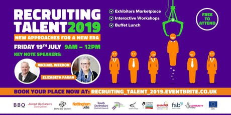 RECRUITING TALENT 2019: New Approaches for a New Era tickets