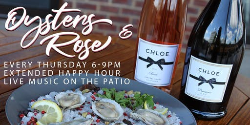 Oysters & Rosé on the Patio!