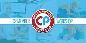 Choice Partners Member Workshop September 17, 2019