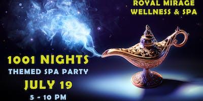 1001 NIGHTS: ALADDIN THEMED SPA PARTY