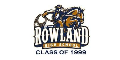 Rowland High School Class of 99 Reunion
