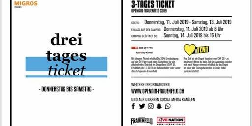 Openair Frauenfeld 3- Tages Ticket