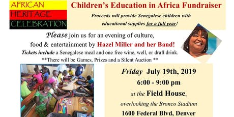 African Heritage Celebration Gala tickets