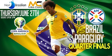 Brazil Vs. Paraguay - Quarter Final tickets
