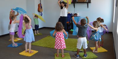 Bloom in Music Launch Party(Community Music Classes for children ages 0-7)