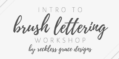 Intro to Brush Lettering Workshop tickets