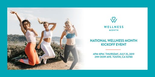 National Wellness Month Kickoff Event