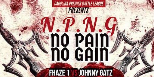 NO PAIN NO GAIN (NPNG) BY CAROLINA PREMIER