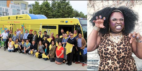 Ride the Pride Bus to Drag Queen Story Time on the Beach! tickets