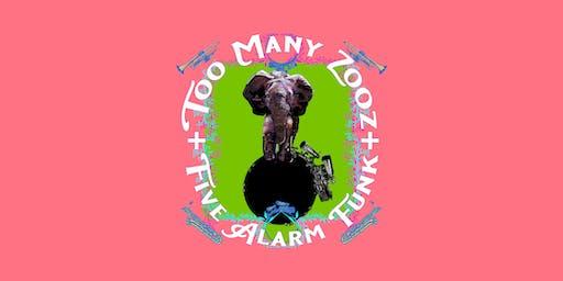 Too Many Zooz + Five Alarm Funk Presented by Winnipeg Folk Festival