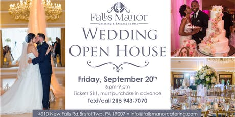 Fall  Wedding Open House at Falls Manor tickets