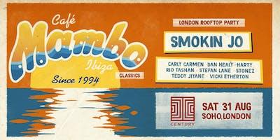 Cafe Mambo Ibiza Classics London Rooftop Party