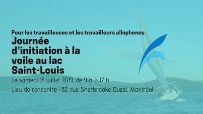 Journée d'initiation à la voile au lac Saint-Louis tickets