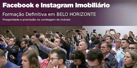 Belo Horizonte: Facebook e Instagram Imobiliário DEFINITIVO ingressos