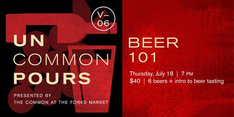 UnCommon Pours V06: Beer 101 tickets