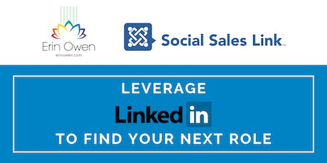 How to Effectively Use LinkedIn to Attract Hiring Managers & Recruiters and Research Opportunities tickets
