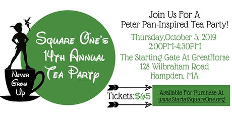 14th Annual Square One Tea Party tickets