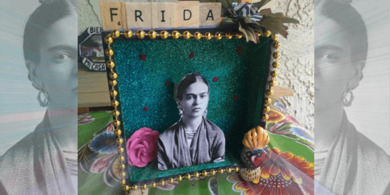 Conchas & Crafts: Frida Shrine Making Workshop
