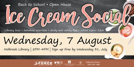 Holbrook Library Ice Cream Social tickets