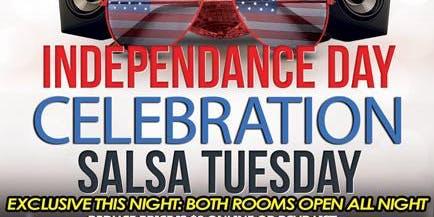 IndepenDance Celebration Salsa Tuesday @ Alhambra