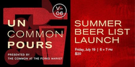 UnCommon Pours V06: Beer List Launch with Sommelier Veronique Rivest tickets