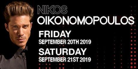 Nikos Oikonomopoulos tickets