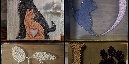 String Art class with Lisa Slate Belt Animal Advocacy Group Inc. Fundraiser