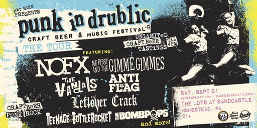 *POSTPONED* Fat Mike Presents PUNK IN DRUBLIC featuring NOFX