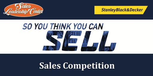 So You Think You Can Sell Competition