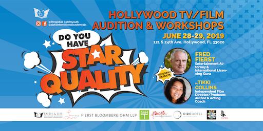 HOLLYWOOD TV/FILM AUDITION & WORKSHOPS | Hollywood FL