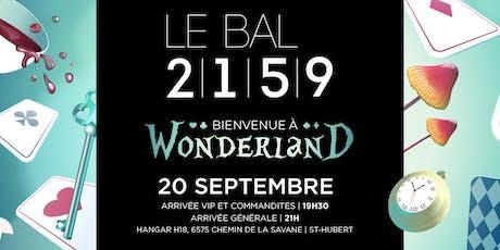 LE BAL 2159 - Bienvenue à Wonderland billets