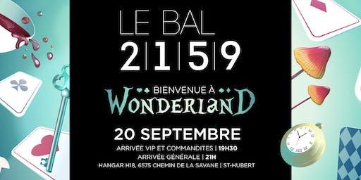 LE BAL 2159 - Bienvenue à Wonderland