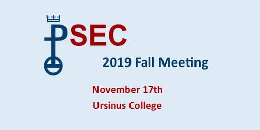 2019 PSEC Fall Meeting
