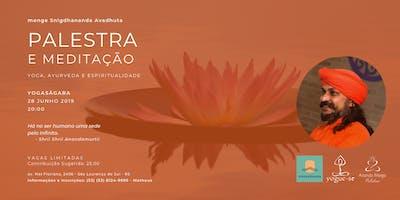 Yoga, Ayurveda e Espiritualidade - monge em São Lourenço do Sul