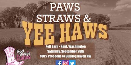 Paws, Straws, & Yee Haws! tickets