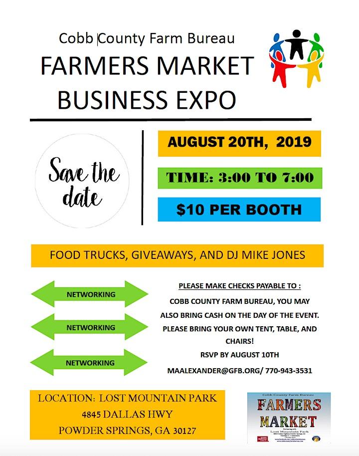 Cobb County Farm Bureau Business Expo image