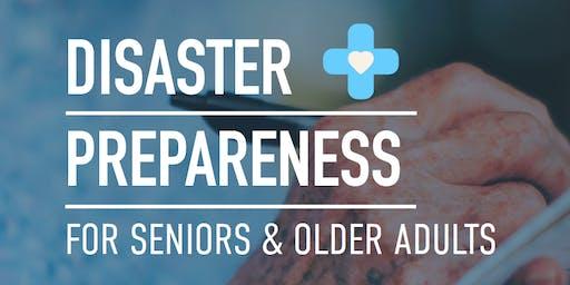 Disaster Preparedness for Seniors and Older Adults