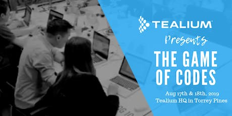 The Game of Codes @Tealium tickets